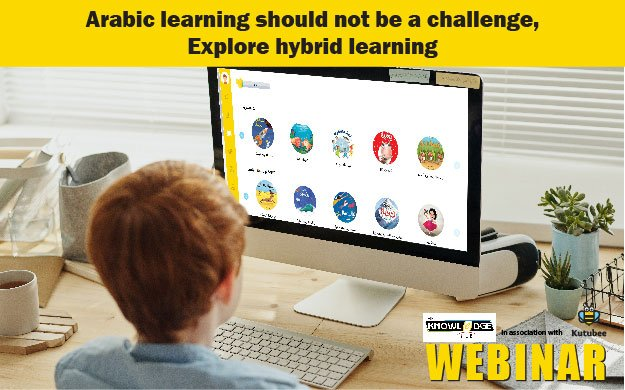 Kutubee Webinar – Arabic learning should not be a challenge, Explore hybrid learning