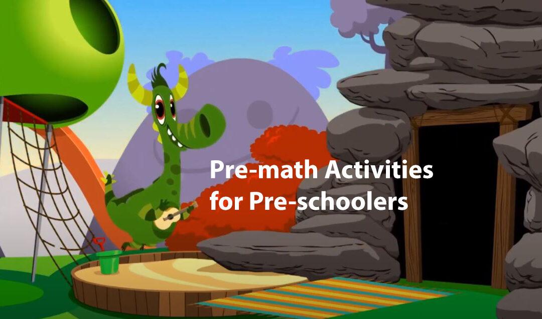 Pre-math Activities for Pre-schoolers