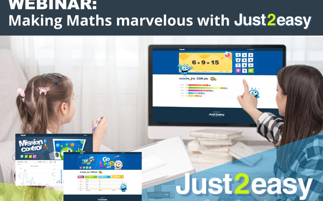WEBINAR : Making Maths marvelous with Just2Easy