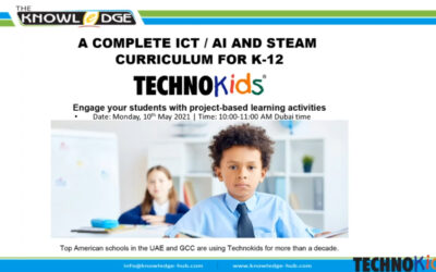 A Complete ICT / AI and STEAM curriculum for K-12: TechnoKids Webinar 10th May