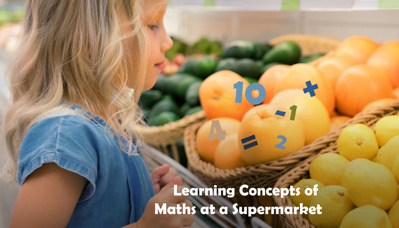 learning math at supermarket