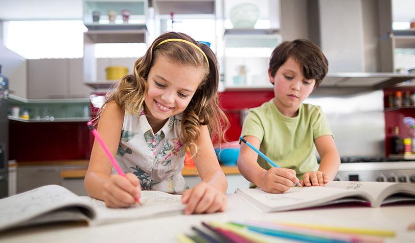 children-doing-homework