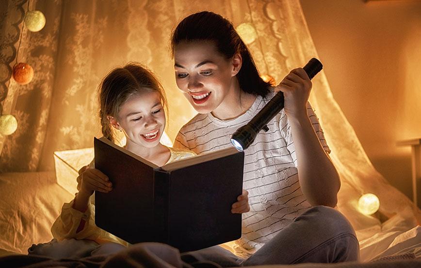 family-reading-bedtime