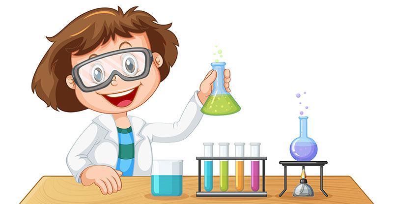 Girl-in-the-science-lab