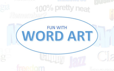 How To Have Fun With Microsoft Word Art